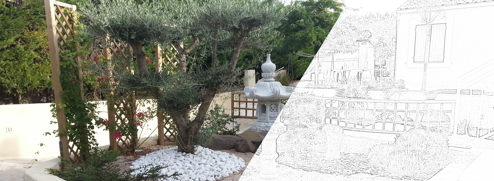 Am nagement de jardins et pose de syst mes d 39 arrosage montpellier - Creation jardin mediterraneen saint paul ...